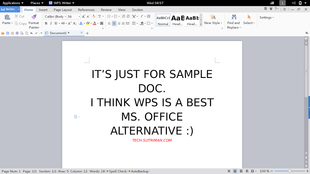 Download and Install WPS Office, Best Ms  Office alternative for
